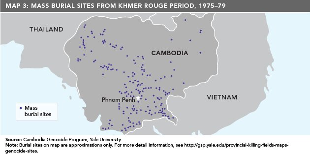 Khmer Rouge Map The Rise and Fall of the Khmer Rouge Regime | Asia Pacific Curriculum